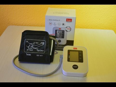 Boso Medicus X Blutdruckmessgerät (Testsieger Stiftung Warentest)