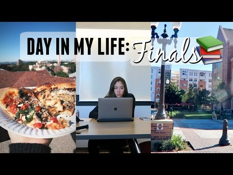 Day in my life: last day of finals! (видео)