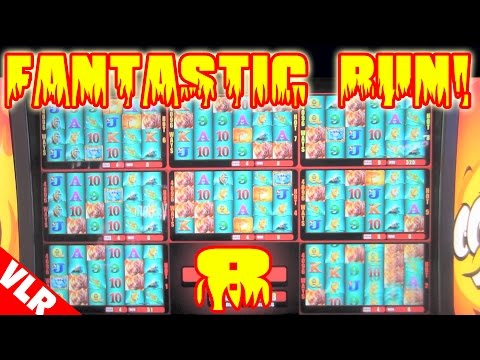 HOT HOT 8 - GREAT RUN - New Slot Machine Live Play & Bonus Win