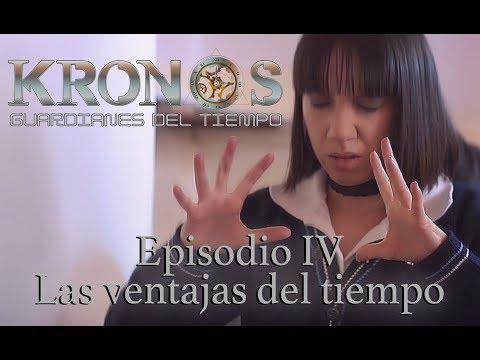 """Episodio 4: """"Las ventajas del tiempo"""". Serie web sci-fi """"Kronos, guardianes del tiempo"""""""