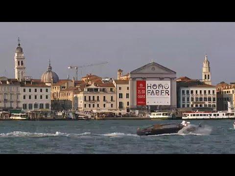 Schau zur europäischen Handwerkskunst in Venedig