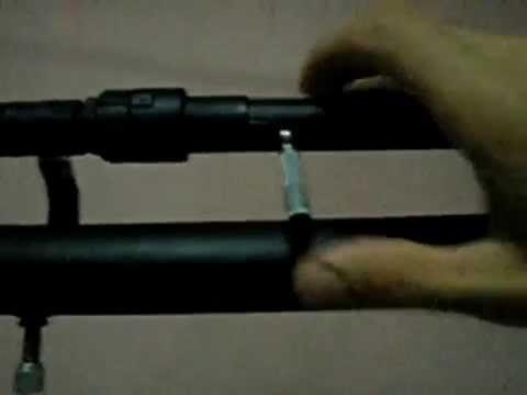 Arma de AR-COMPRIMIDO (caseira)