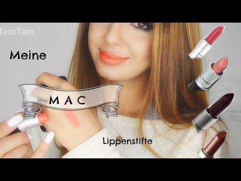 Meine MAC Lippenstift Sammlung