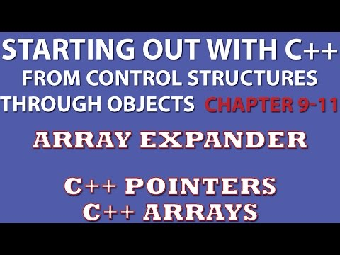 C++ Programming Challenge 9-11 Array Expander (C++ pointers, C++ arrays, C++ Functions)