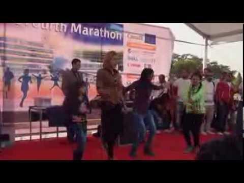 رقص وغناء مع فريق الهوساجية بماراثون مستشفى سرطان الأطفال 57357