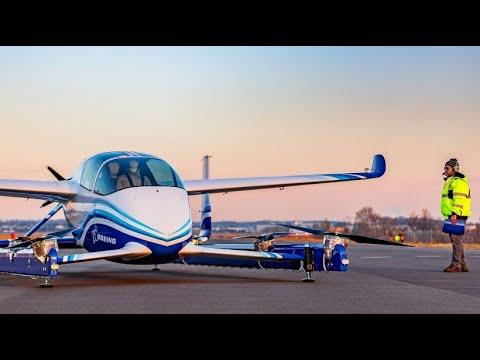 Autonomes Elektro-Flugtaxi als Boeings Vision der Zukunft