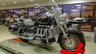 10. Triumph Rocket III Touring!! • Protecting New Puppy! | TheSmoaks Vlog_801