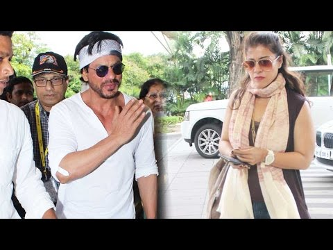 Spotted: Shah Rukh Khan In Superhot Look With Kajo