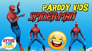 Joget Eta terangkanlah lucu versi SPIDERMAN  ✿ Uyyus fun video