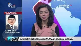 Video Johan Budi: Sudah Sejak Lama Jokowi Bagi-bagi Sembako MP3, 3GP, MP4, WEBM, AVI, FLV Februari 2019