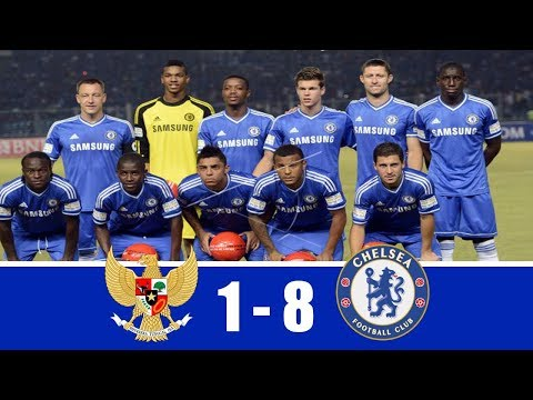INDONESIA vs CHELSEA 1-8 | Friendly Match | All Goals & Highlights