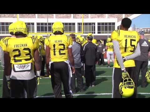 2014 U.S. Army All-American Bowl – West Practice – Jerrod Heard