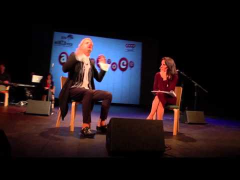 Ad alta voce 2014, Venezia, intervista ad Alessandro Bergonzoni видео