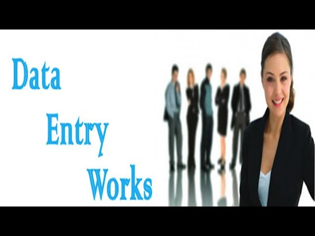 how to do data entry work at home