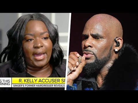 R. Kelly's Former Hairdresser Goes Public With Sexual Abuse Allegations