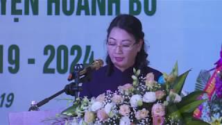 Đại hội Ủy ban Mặt trận Tổ quốc huyện Hoành Bồ lần thứ XVII, nhiệm kỳ 2019 2024