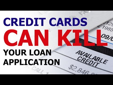Credit Cards can kill your Home Loan application