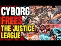 Dark Nights Metal: Cyborg One Million Frees The Justice League  ( What Is The Hypertime? )