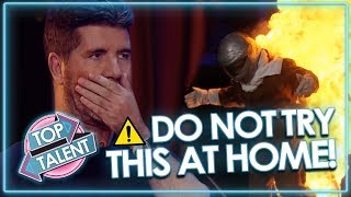 Video SUPER DANGEROUS AUDITIONS Send Judges Into Meltdown! *DON'T TRY THIS AT HOME* | Top Talent MP3, 3GP, MP4, WEBM, AVI, FLV Februari 2019