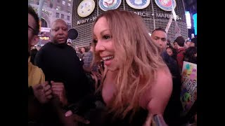 Mariah Carey In New York - Times Square - Me I Am Mariah ... The Elusive Chanteuse