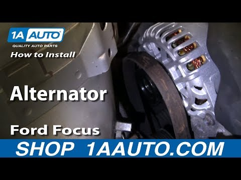 How To Install Replace Alternator Ford Focus Zetec DOHC 00-04 1AAuto.com