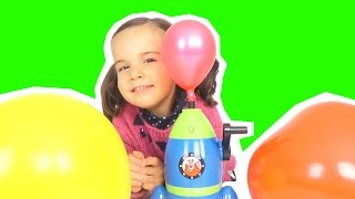 Video La MACHINE à FAIRE DECOLLER les BALLONS - BALLONS plein de SURPRISES ou de BONBONS ? Démo Jouets MP3, 3GP, MP4, WEBM, AVI, FLV Mei 2017