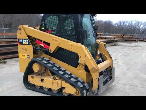 CATERPILLAR CHARGEURS COMPACTS RIGIDES 239DSTD1CA equipment video IFsCXYnhxuQ
