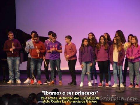 Obra: Íbamos a ser Princesas. IES Galeón de Isla Cristina