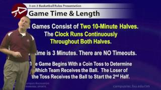 An overview of the FSU IM 3-on-3 basketball rules along with a quick look at program procedures and sportsmanship guidelines to get your team ready for the ...