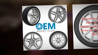 16 Inch Wheels Rims & Tires for Mercedes Benz