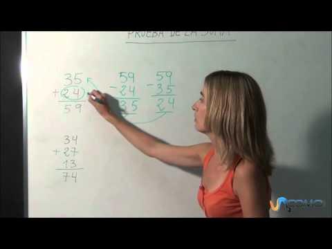 Cómo comprobar una suma