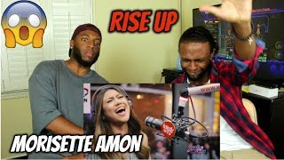 "Video Morissette Amon performs ""Rise Up"" LIVE on Wish 107.5 Bus (REACTION) MP3, 3GP, MP4, WEBM, AVI, FLV Januari 2018"