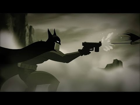 strange - A brand new short from producer Bruce Timm featuring a lost tale from Batman's past, the Dark Knight tracks a strange giant to the mysterious lair of Dr. Hug...