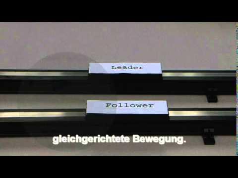 """Elektrisches Getriebe Teil 3 - """"Master"""" """"Slave"""""""