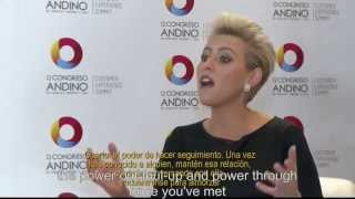 Laura was honored to keynote ACDECC (Association of Colombian Call Centers) on April 22, 2015 in Bogota, Colombia. Here you can see a short interview with La...