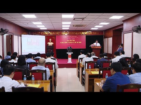 Lễ ra mắt giao diện mới trang thông tin điện tử Hồ Chí Minh