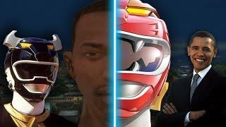CJ SE VUELVE POWER RANGER | GTA San Andreas Historia
