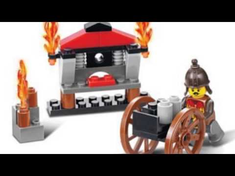 Video Todays tube of the Red Cliff Supplying 43 Piece Set Lego