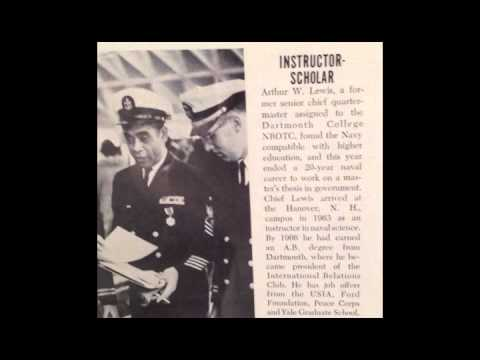 USNM Interview of Arthur Lewis Part Thirteen Final Service Posting at Dartmouth College
