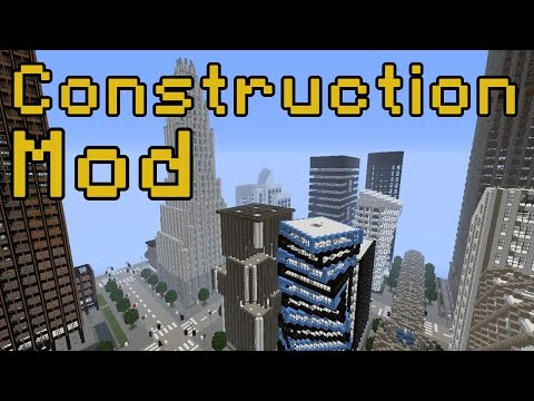 Epic Minecraft City – Construction Mod Spotlight!