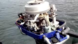 почему глохнет лодочный мотор ветерок