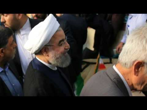 News Update Iran election: Hassan Rouhani on course for second term 20/05/17