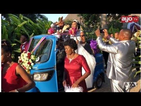 Video Bwana harusi na Bi harusi waliobebwa kwenye Bajaji wafunguka download in MP3, 3GP, MP4, WEBM, AVI, FLV January 2017