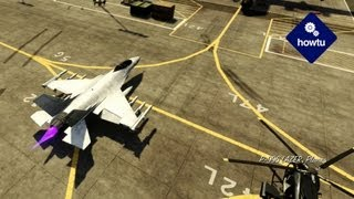 How To Get A Tank And Fighter Jet In GTA 5