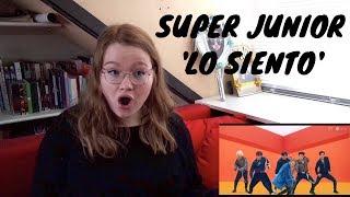 Video SUPER JUNIOR (슈퍼주니어) - 'Lo Siento' (Ft. Leslie Grace) II M/V REACTION [I'M SHOOK] MP3, 3GP, MP4, WEBM, AVI, FLV April 2018