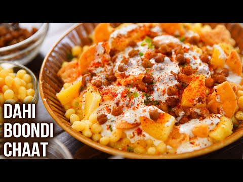 Dahi Boondi Chaat Recipe | How to Make Boondi Papdi Chaat at Home | Quick and Easy Chaat | Varun