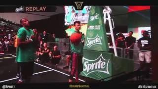 BET Experience Sprite Dunk Contest Celebrity Game LA