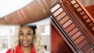 """The Urban Decay Naked Heat is getting some pretty bad shade on social media this week. Do the Naked Heat swatches snitch? Or are we being mislead?! Check out this review on the Urban Decay Naked Heat Eyeshadow Palette!Eid makeup look inspired by @_consmakeup_  on Instagram ❤️P R O D U C T S  M E N T I O N E D:Urban Decay Naked Heat Palette Clarisonic Sonic Brush Head http://bit.ly/2smEFXFNYX HD Concealer http://bit.ly/2r3gjhKPUR Contour Stick Deep (discount code: JACKIE) http://bit.ly/2r2ZELkBeauty Bakerie Flour Setting Powder http://bit.ly/2smqqCrBeauty Blender http://bit.ly/2r2Rjr6ABH brow Wiz http://bit.ly/2r2ZQu2Benefit Goof Proof Brow #6http://bit.ly/2r2WG9xBenefit Brow Gel http://bit.ly/2r2WG9xUrban Decay Naked Heat Liners Lena Lashes Lash Bunny (Maya lash) http://bit.ly/2rdUTOpNARS Torrid Liquid Blush http://bit.ly/2r3qe72Artist Couture Double Take (discount code LABRONZE) http://bit.ly/2r3paQEBecca Sunlit Bronzer http://bit.ly/2pLHM74Colourpop Dalia Lip Pencil Urban Decay Lipstick """"Fuel"""" Maybelline Lip Palette http://bit.ly/2smnO7tToo Faced Coconut Setting Spray D I S C O U N T  C O D E S:http://www.Artistcouture.com discount code LABRONZEJouer Discount! use code JACKIE15 for discount www.jouercosmetics.com/ Use code JACKIE for discount on all PUR Cosmetics purchases! http://www.purminerals.com/Sigma Makeup Brushes http://bit.ly/1FkFUYl use code JACKIESIGMA for 10% offC O N N E C T  W I T H   M E:instagram: @jackieainasnapchat: jackieainafacebook: Jackie Ainatwitter: @jackieainaB U S I N E S S:For business inquiries please contact jackie@rare.global*Some affiliate links are used, which means I may receive a commission should you decide to click that link and make a purchase. My content is 100% not influenced by brands, PR products received, usage of affiliate links, or brand partnerships.Changing the standard of beauty, one tutorial at a time :)Phil 4:13"""
