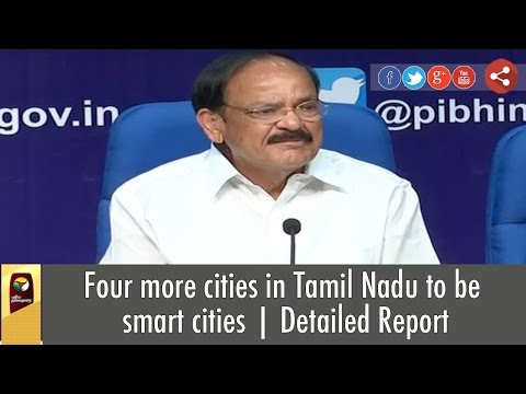 Four-more-cities-in-Tamil-Nadu-to-be-smart-cities-Detailed-Report