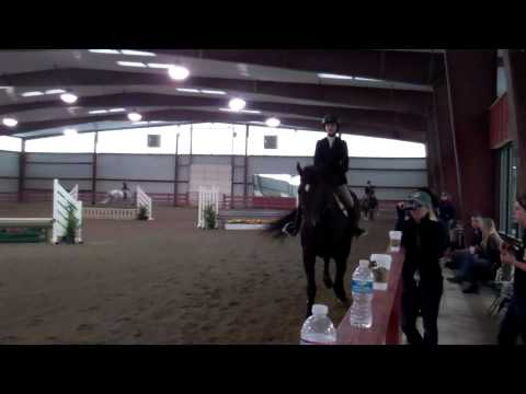 Alison Radgowski's Second-Place Ride in Intermediate Flat - 9/21/13